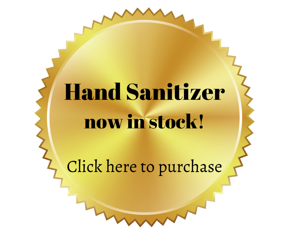 sanitizer badge